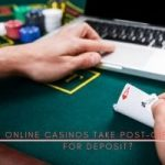 Do online casinos take post-gift cards for deposit1
